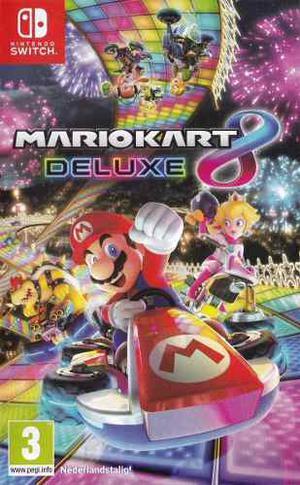 Mario Kart 8 Deluxe Switch Sellado Incluye Delivery O Recojo