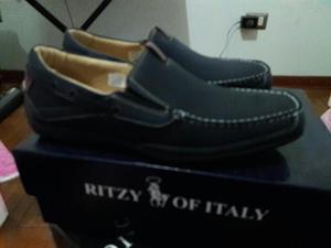 Mocasines Ritzy T 41 Azul Marino