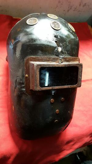 Antigua Mascara de Soldador Made In Uso