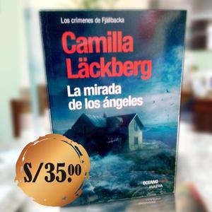 LIBRO ORIGINAL: LA MIRADA DE LOS ANGELES DE CAMILA LACKBERG