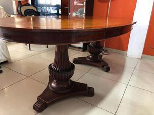 Mesa de vidrio ovalada con patas de madera posot class for Mesa de madera con vidrio
