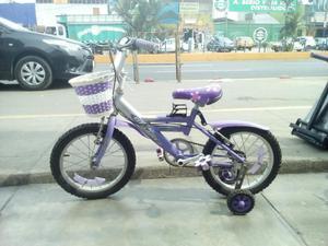 Vendo Bicicleta de Niña Goliat