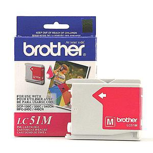 Cartucho de Tinta Brother Lc51M Magenta MFC240 MFC