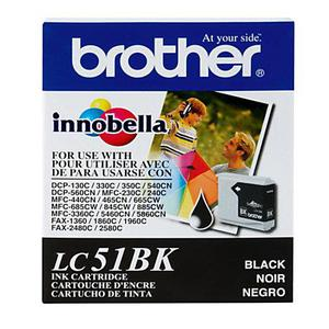 Cartucho de Tinta Brother Lc51bk Negro MFC240 MFC