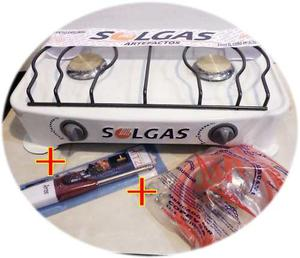 Mesa con sistema de posot class for Cocina 02 hornillas
