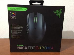 Mouse Inalámbrico Gamer Razer Naga Epic Chroma  DPI 19