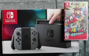 Nintendo Switch + Super Mario Odyssey Nuevos