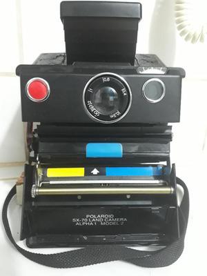 Antigua Cámara Marca Polaroid