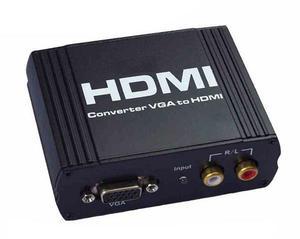 CONVERTIDOR DE VIDEO VGA A HDMI con audio p