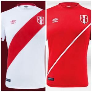 Camisetas Seleccion Peruana Bordadas Dry Fit