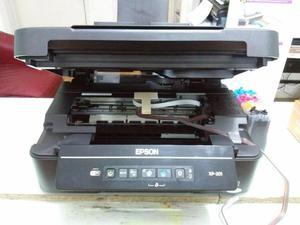 Impresora Epson Multifuncional XP201 con Sistema Continuo