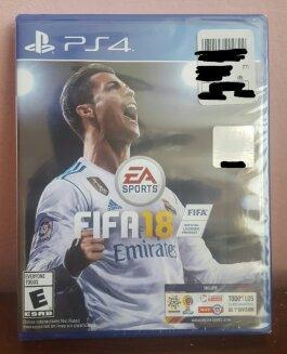 Juego FIFA18 para PS4 NUEVO Y SELLADO