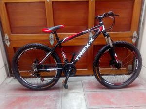Bicicleta de Aluminio Montañera Aro 26