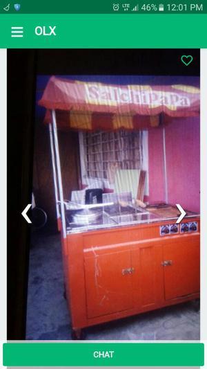Carro Sanguchero 600 en Pisco