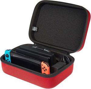 Case Deluxe Rojo Para Nintendo Switch