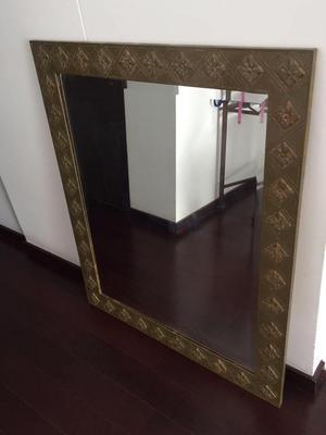 Espejo biselado para sala o comedor posot class for Espejo con borde biselado