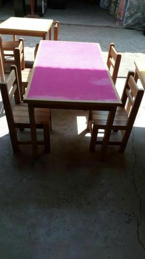 mesas sillas y otros para un colegio de inicial posot class