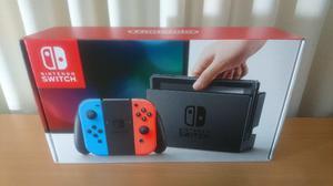 Nintendo Switch Joy-con Neon Blue & Red Nuevo En Caja