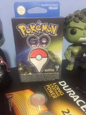 Pokemon Go Plus + 2 Pilas Duracell - Nuevo Stock Disponible