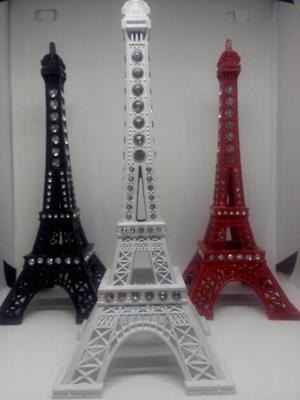 Torre Eiffel De Metal Adorno Decorativo Sala Escritorio
