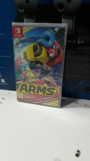 Arms Nintendo Switch Nuevo Sellado Stock