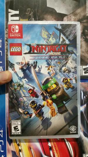 Lego Ninjago The Movie Video Game Nintendo Switch Nuevo