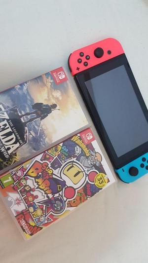 Nintendo Switch Con Garantía Zelda Bomberman