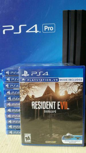 Resident Evil 7 Ps4 Nuevo Sellado