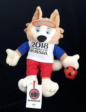 Peluche Zabivaka, La Mascota Del Mundial Rusia  Cm