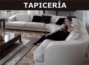 TAPICERIA DE MUEBLES Y SILLAS A DOMICILIO, FABRICACION,
