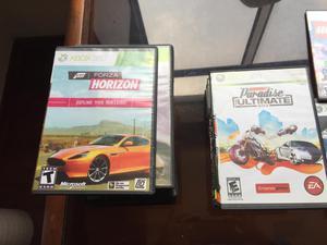 juegos Variados de Xbox 360 y 2 Juegos de Nintendo Wii