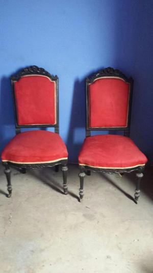 sillas antiguas Luis XVI