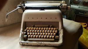 Antigua Maquina De Escribir Trunph Funciona