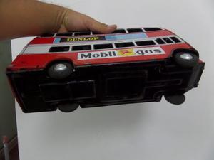 Antiguo Juguete De Lata Japones Bus De Londres Grande
