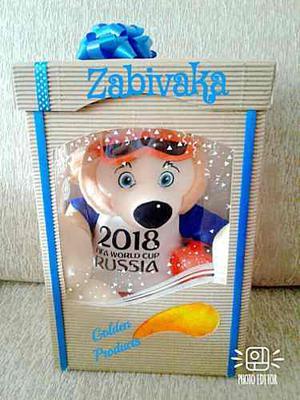 Peluches Mascota Del Mundial  Zavibaka
