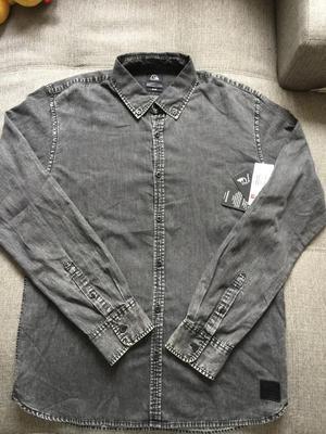 Rebaja Total Camisa Manga Larga Quiksilver Talla L Slim