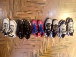 Zapatillas de Basquet Jordan Nike Adidas