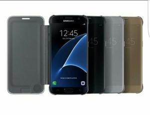 Flip Cover Sview Samsung Galaxy S7 Edge Original 100%.