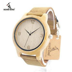 Reloj de Bambú Bobo Bird Nuevo