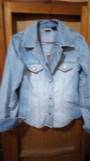 Casaca jean camisa corduroy SM a 20