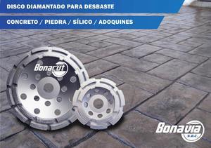 Disco Diamantado Para Pulir Concreto / Granito / Sílico /