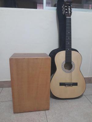 Combo musica criolla guitarra quijada y cajon posot class for Arma tu casa
