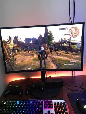Monitor Samsung 27 Pulgadas Curvo 144hz 1ms Gaming!