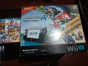 Nintengo Wii U De 32 Gb Mario Kart 8 Deluxe Set