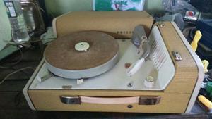 Antiguo Tocadiscos Philips De Coleccion Funcionando