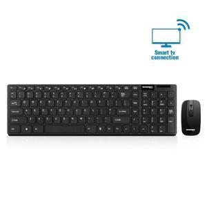 Kit Teclado + Mouse Inalámbrico Smart Tv Wireless Gr