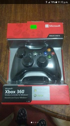 Mando Xbox 360 Wireless Para Pc, Buen Estado