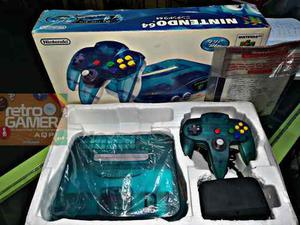 Nintendo 64 Funtastic Ocean Blue