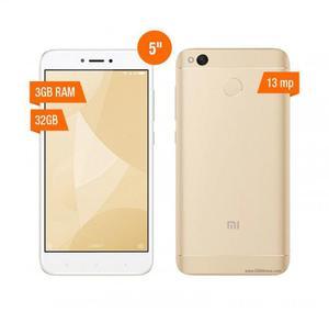 Xiaomi Redmi 4x Version Global 32gb Ram 3gb LTE 4G Nuevo