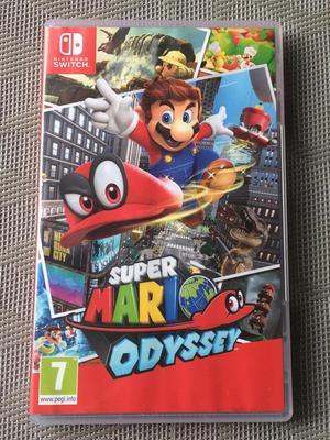 Juego Nintendo Switch Super Mario Odysey